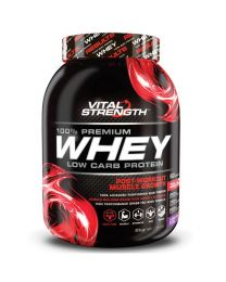 【包邮】Vital Strength乳清蛋白粉100% Whey Protein 低碳水化合物增肌 2公斤 巧克力味