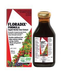 【包邮】Floradix 纯天然草本萃取铁元素液500ml