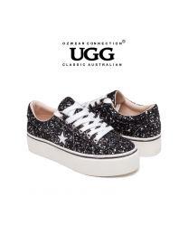 【包邮】OZWEAR UGG OB421 二色可选 春夏新款 格丽特闪耀厚底休闲鞋